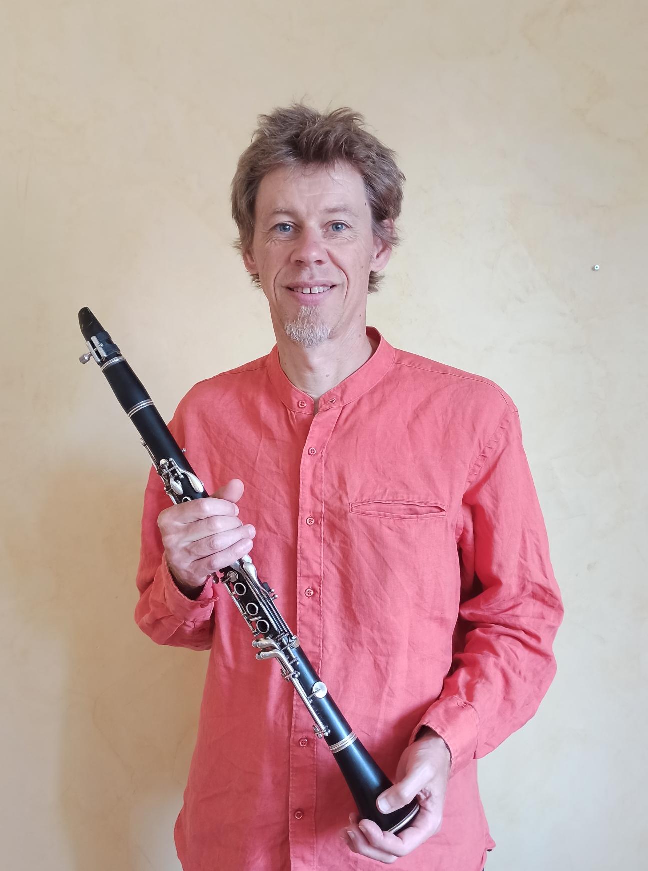 Matthias Meier - clarinette - illustration