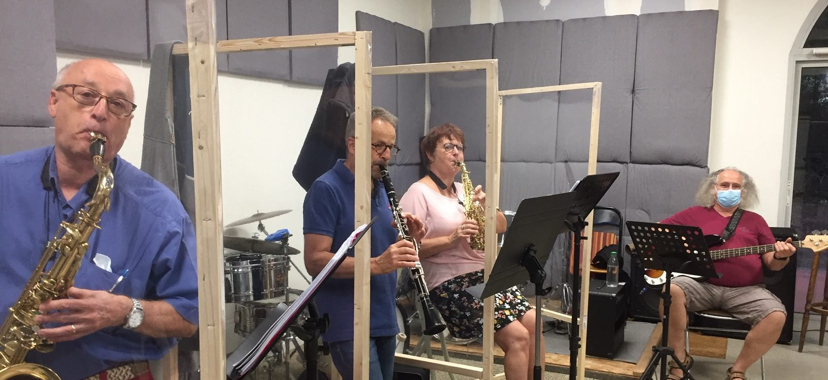 Macadanse teste nos protections COVID - Ateliers Musicaux