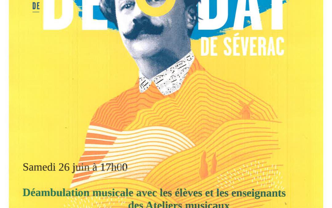 Déambulation musicale avec Déodat de Séverac
