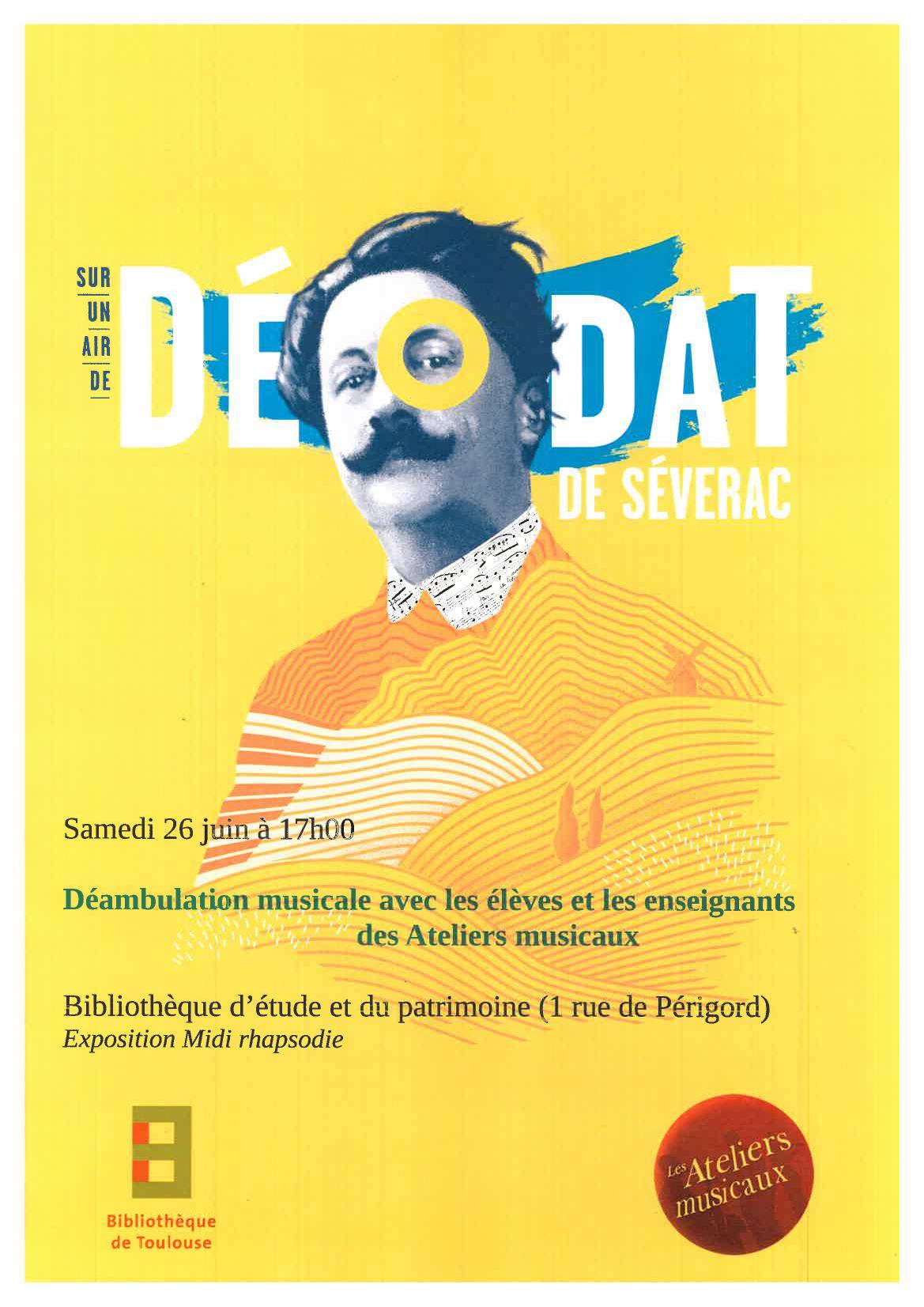 Affiche Déodat de Séverac - 26 Juin21